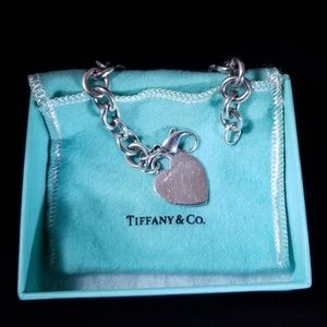 Tiffany & Co. Heart Tag Charm Bracelet RETIRED